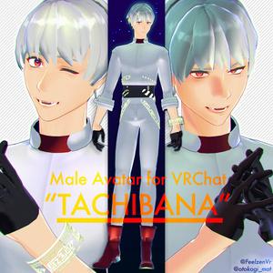 VRChatアバター用3Dモデル「タチバナ」