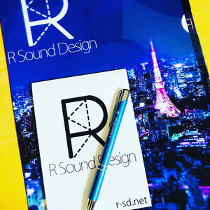 R Sound Design オリジナルクリアファイル