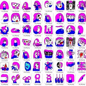 毛量多子 MoryoOko Discord用Data vol.1