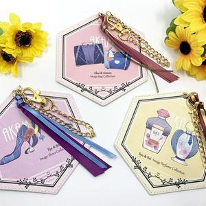 赤安イメージ雑貨・六角形パスケース