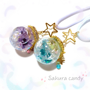 【IDOLiSH7イメージ】キラキラお星様のミニハーバリウム☆