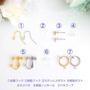 【あんスタ】ユニットイメージ天然石ピアスorイヤリング