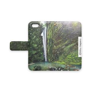 轟の滝―手帳型iPhoneケース