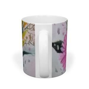 花のマグカップ2