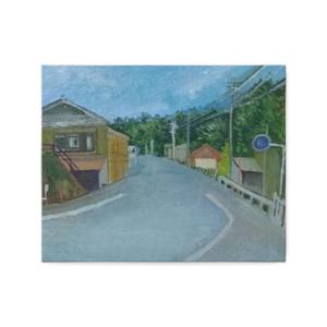 田舎道―キャンバスアート
