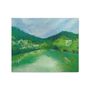 川の流れ(仮)ーキャンバスアート