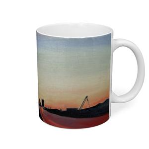 夕暮れ-絵画風マグカップ