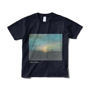 たそがれーアートTシャツ
