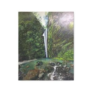滝と水辺のキャンバスアート