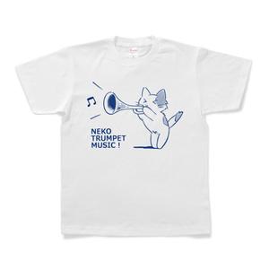 トランペットねこ Tシャツ