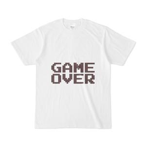 ゲームオーバー Tシャツ