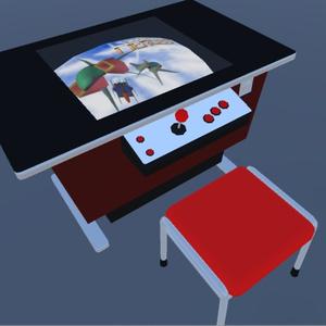 【3Dモデル】ウォーパルド印の「テーブル筐体」