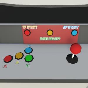 【3Dモデル】オリジナルアップライト筐体「UPPER_STRATOS」