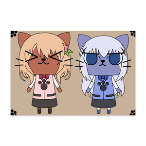 ココアアイルー&智乃アイルーポストカード