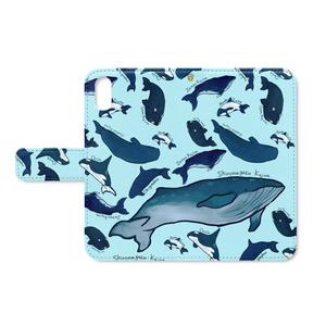 クジラたちiphoneケース(X/XS)