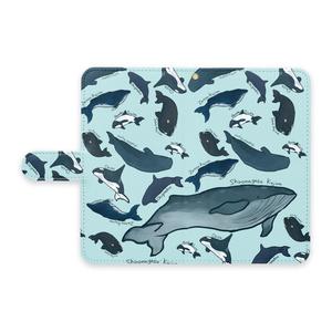 クジラたち他機種携帯ケース