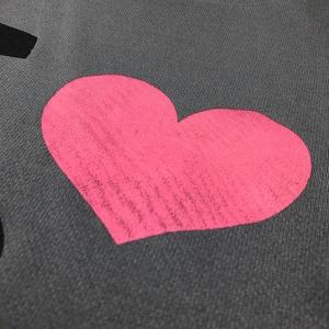 <速乾ドライ>【ダークグレー Lサイズ】I LOVE 黒ネコTシャツ(あんしんBOOTHパック(匿名)で自宅から発送【ネコポス365円】)