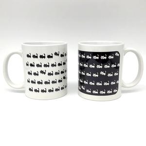 ネコいっぱいマグカップ(あんしんBOOTHパック(匿名)で自宅から発送【宅急便60サイズ850円〜】)