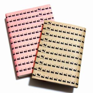 黒ネコ ブックカバー(あんしんBOOTHパック(匿名)で自宅から発送【ネコポス370円】)