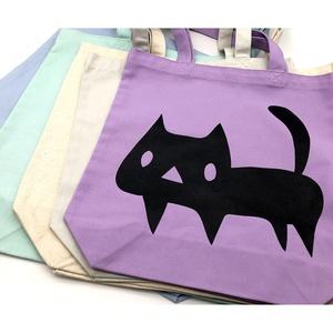 でっかい黒ネコ トートバッグ