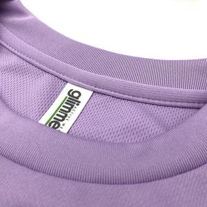 <速乾ドライ>★メンズLサイズ★【ライトパープル】I LOVE黒ネコTシャツ(あんしんBOOTHパック(匿名)で自宅から発送【送料一律370円】)