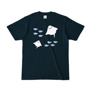 エイ Tシャツ <ネイビー>(pixivFACTORY)