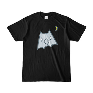 ネコウモリ Tシャツ <黒>(pixivFACTORY)