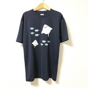 ★自家通販★エイ 速乾ドライTシャツ (ネイビー)