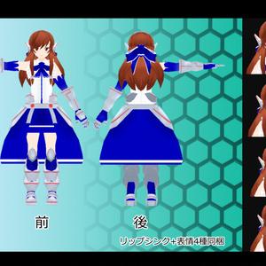 オリジナル3Dモデル『ヒマリ』