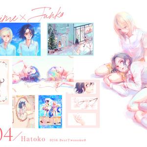 Hajime×Junta(ペダル/T2女体化)