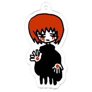 赤い髪の少年キーホルダー