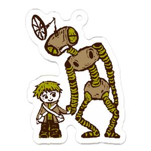 手つなぎロボットキーホルダー