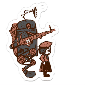 戦闘ロボットキーホルダー