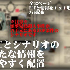 クトゥルフ神話TRPGシナリオ【頭夢児島殺人事件 二冊目】