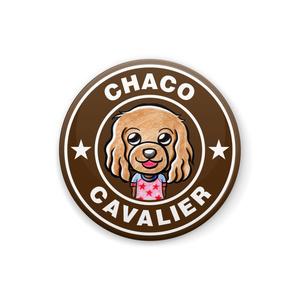 チャコちゃんのロゴバッジ