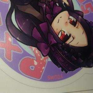 【RX-7】クルマに貼れる!!クルマの擬人化ステッカー