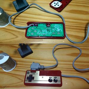 ファミコンのコントローラーをMSX等で遊ぶ基板