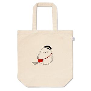 エナガの郵便屋さんトートバッグ