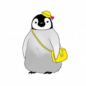 子ペンギンのトートバッグ