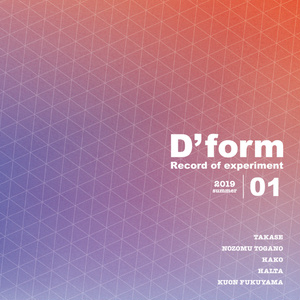 D'form Record of experiment 01