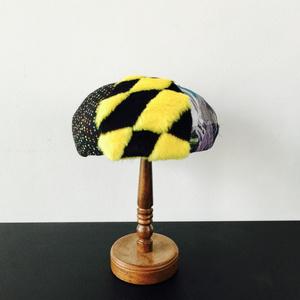 Hat Labo Jam コラボレーション/ベレー帽/Yellow