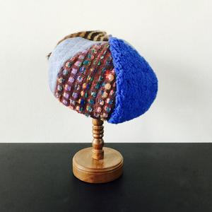 Hat Labo Jam コラボレーション/ベレー帽/Blue