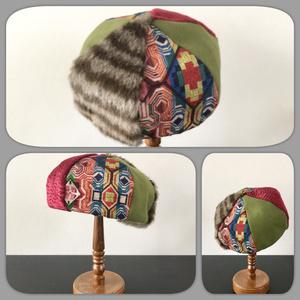 Hat Labo Jam コラボレーション/ベレー帽/RED WINE