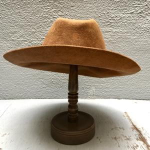 (USED)FUJI HAT&Mr.OKUDA/フジハット(size58-59)/カウボーイハット/ウェスタンハット/レザークラフトリボン/