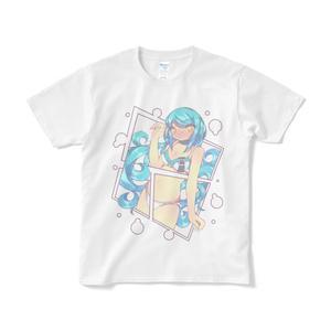 ガールTシャツ【ブルーインパクト】