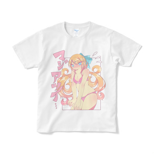 ガールTシャツ【暑がり夏子さん】