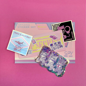 S.P.Y airline シールセット