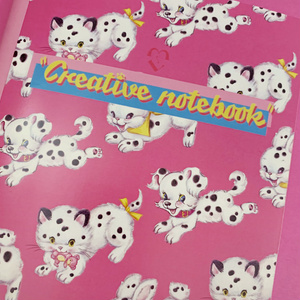 Creative notebook (ダルメシアニマルノート)