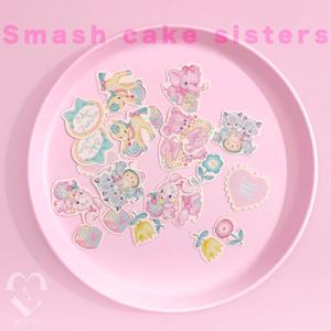 smash cake フレークシール