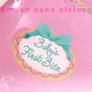 smash cake クリアファイル